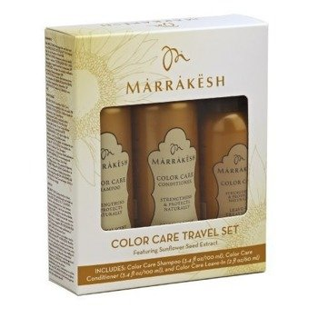 Marrakesh, Travel Set Color Care 3 in 1 zestaw do włosów farbowanych